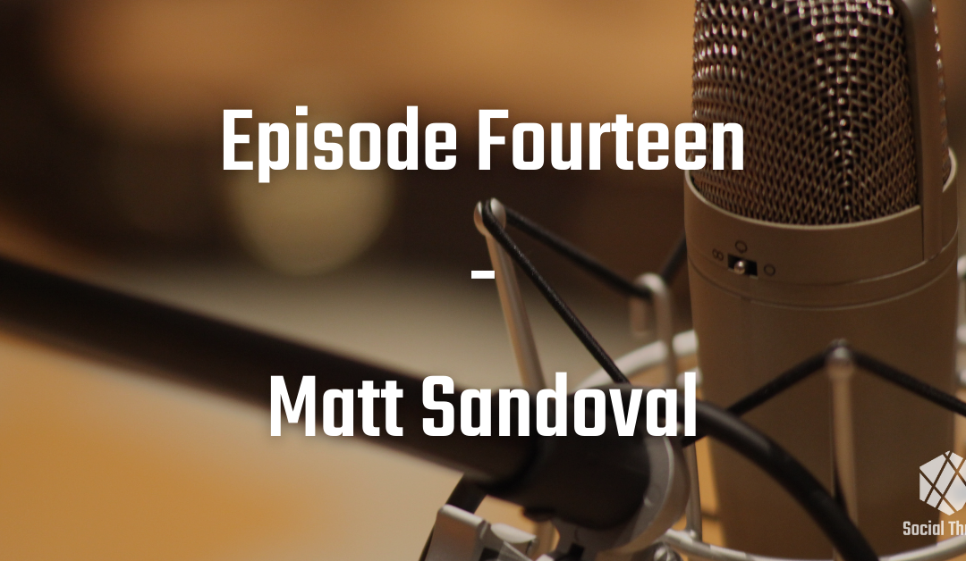 Episode 14: Matt Sandoval Talks About How Buddhism Led Him Back to Church
